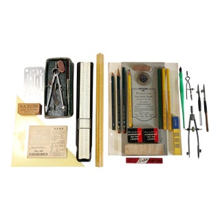 Vintage Drafting Instruments