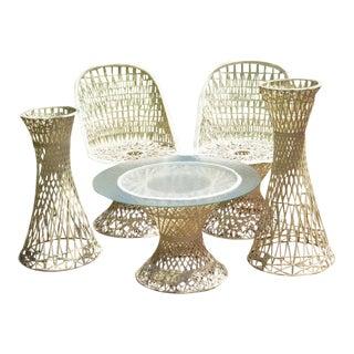 Russell Woodard Spun Fiberglass Dining Set