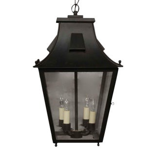 Exterior Colonial Style Hanging Lantern