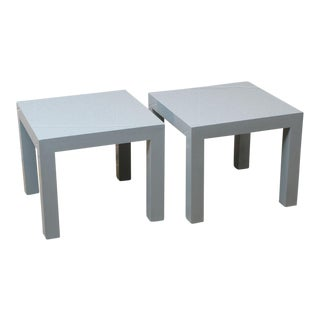 Milo Baughman End Tables - a Pair