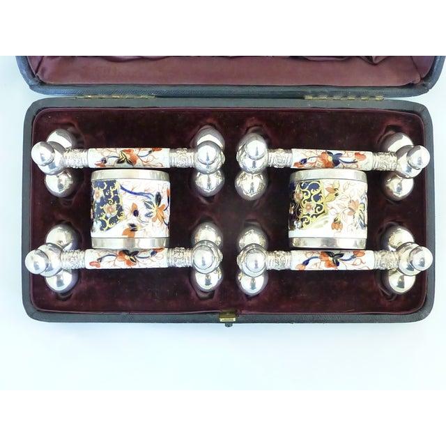 Antique Napkin Ring & Knife Rest Set - Image 9 of 10