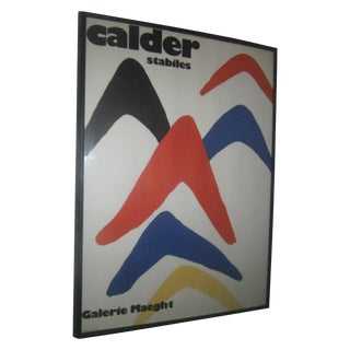 Original Alexander Calder Lithograph - Stabiles