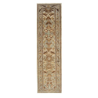 """Persian Sultanabad Rug - 3'2"""" x 13'9"""""""
