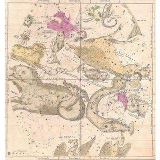Antique Astronomy Constellations - Oct. Nov. Dec.
