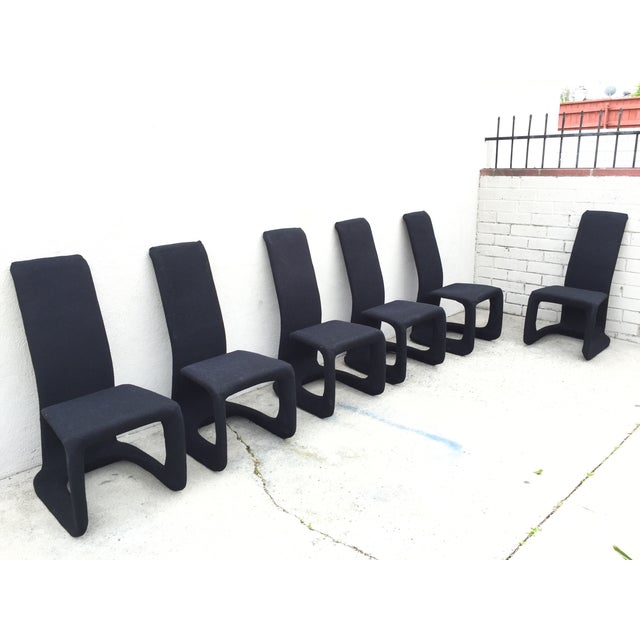 Image of Italian Modern Dining Chairs - Set of 6