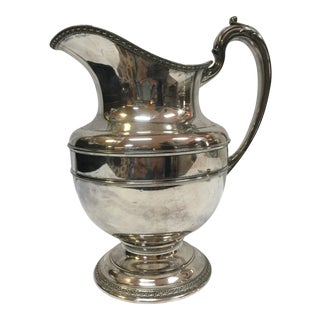 Reed and Barton 1920's Silverplate Pitcher