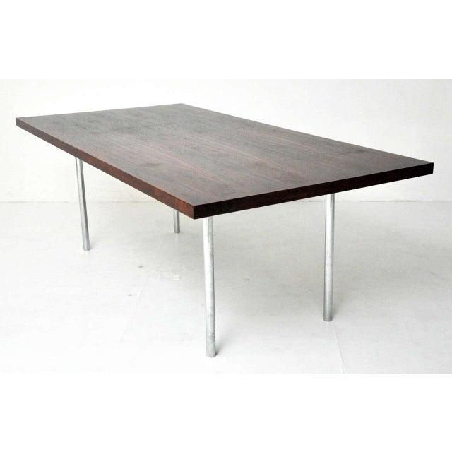 distinguished rosewood dining table after mies van der. Black Bedroom Furniture Sets. Home Design Ideas