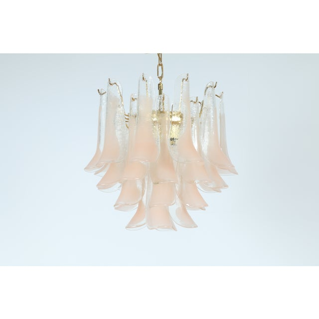 Italian Murano Glass Chandelier - Image 3 of 6
