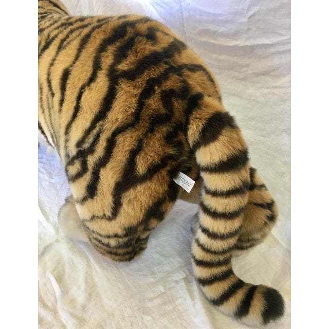 Vintage Nordstrom's Advertising Display Life Sized Plush Tiger - Image 9 of 11