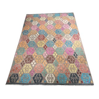 "Bellwether Rugs Imported Colorful Kilim - 6'9"" x 9'8"""