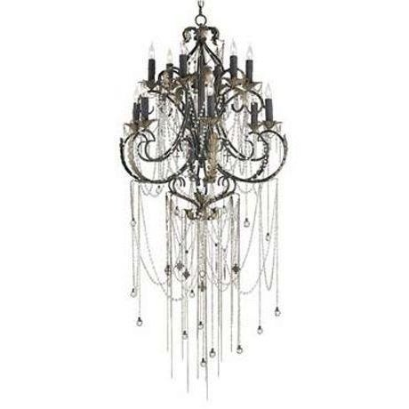 Currey & Co Antiquity Chandelier - Image 1 of 2