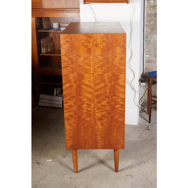 Image of Danish Teak Highboy Dresser