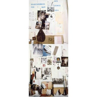1978 Ace Gallery Exhibition Poster by Robert Rauschenberg