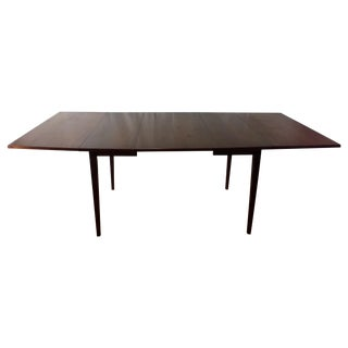 Hibriten Mid Century Walnut Dropleaf Dining Table