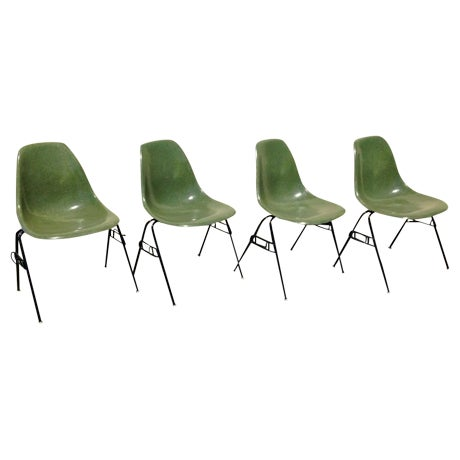 Eames Herman Miller Dss Chairs - Set of 2 - Image 1 of 5