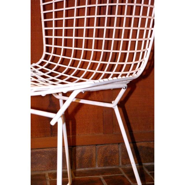 Image of Harry Bertoia Knoll Metal Side Chair