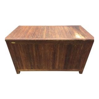 Vintage Teak Wood Chest