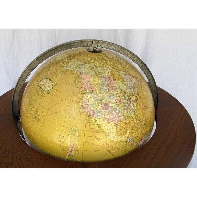 """Cram's Since 1876"" Vintage Electrified Globe - Image 4 of 6"