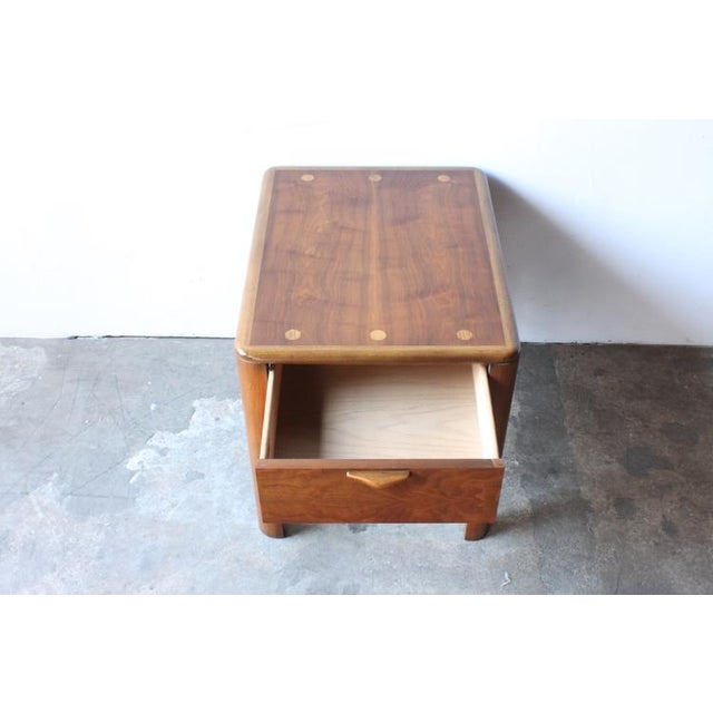 Image of Mid-Century Modern Walnut End Table by Lane