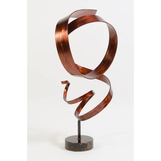 Hephaestus by Joe Sorge, Patinated Steel Sculpture - Image 3 of 9