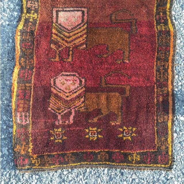 """24""""x34 1/2"""" Beautify Vintage Persian Door Mat"""