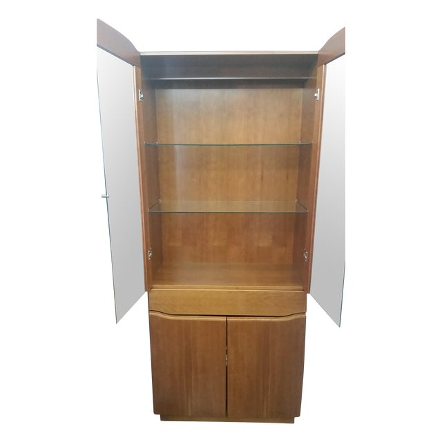 Skovby #352 Display Cabinet in Cherry Wood - Image 1 of 5