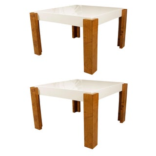 Milo Baughman End Tables - Pair