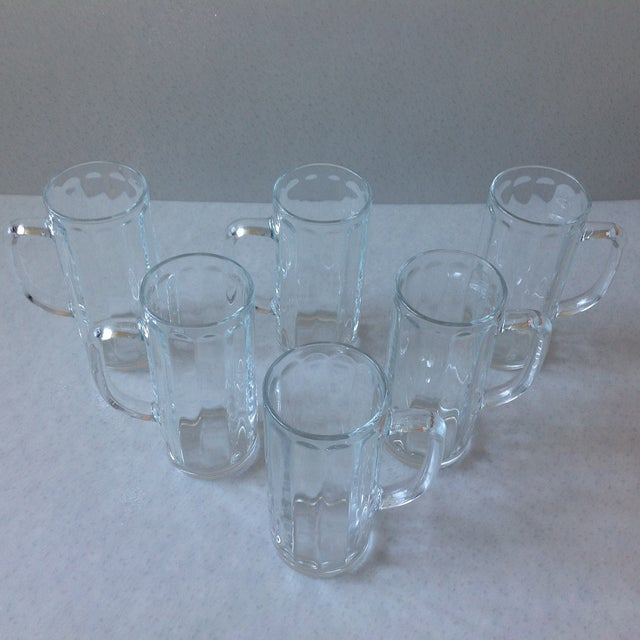 French Pint Beer Mugs - Set of 6 - Image 4 of 6