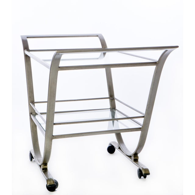Image of Mid-Century Serving Cart