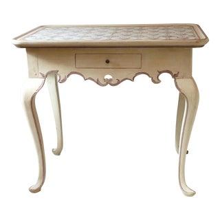 Antique Danish Tile Table
