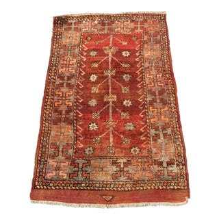 "Vintage Tree of Life Turkish Rug - 2'3"" x 3'"
