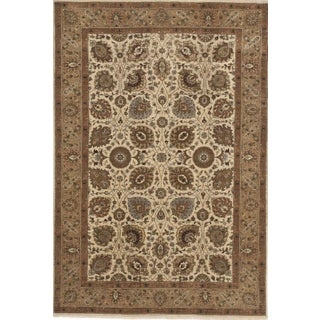 "Hand-Knotted Indo-Persian Rug- 5'10""x 8'8"""
