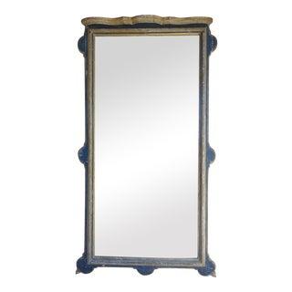 Vintage Italian Carved & Painted Mirror