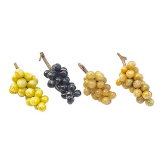 Vintage Marble Grapes - Set of 4