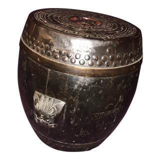 Antique Chinese Rice Barrel