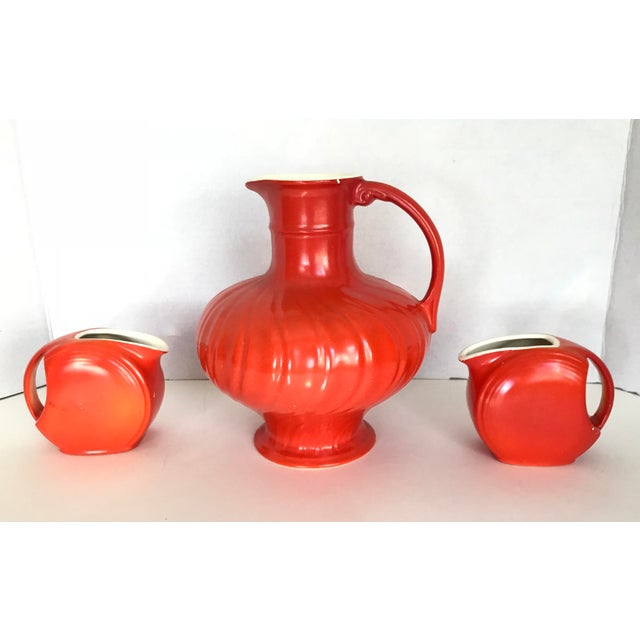 Mid-Century Modern Pitcher & Creamers - Set of 3 - Image 2 of 3