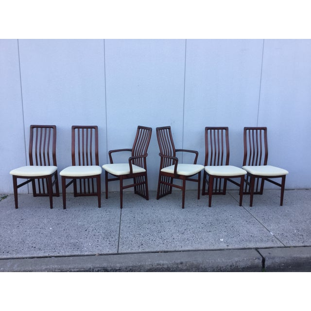Danish Modern Dining Chairs - Set of 6 - Image 2 of 11