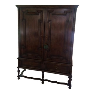 Vintage Traditional Mahogany Armoire