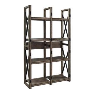 Rustic Room Divider Bookcase