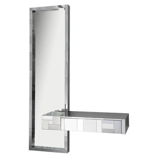 Paul Evans Cityscape Wall Mirror & Floating Console Table