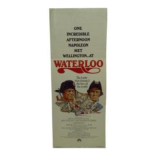 """1970 Vintage Movie Poster of """"Waterloo"""""""