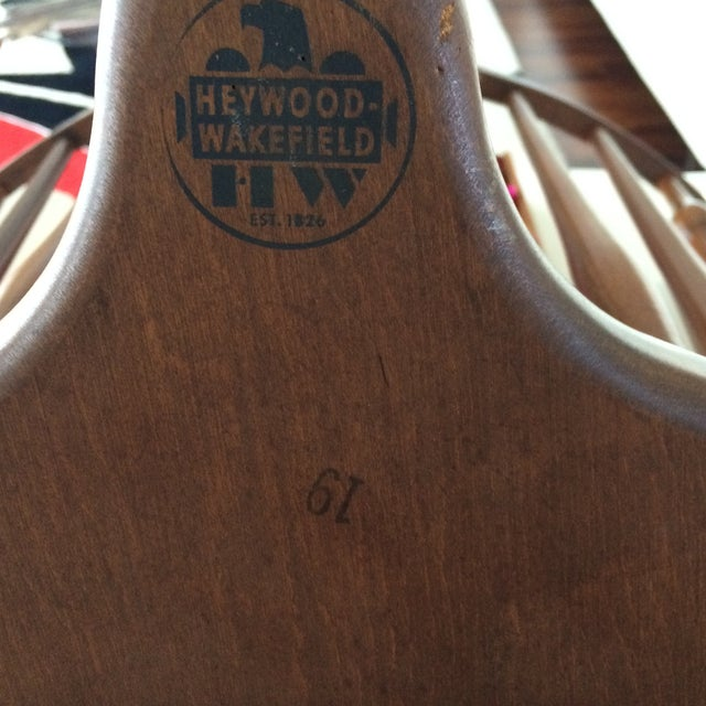 Heywood Wakefield American Braceback Chairs - Pair - Image 6 of 8