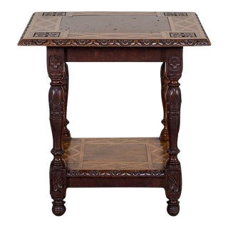 Antique English Arts and Crafts Oak Table circa 1890