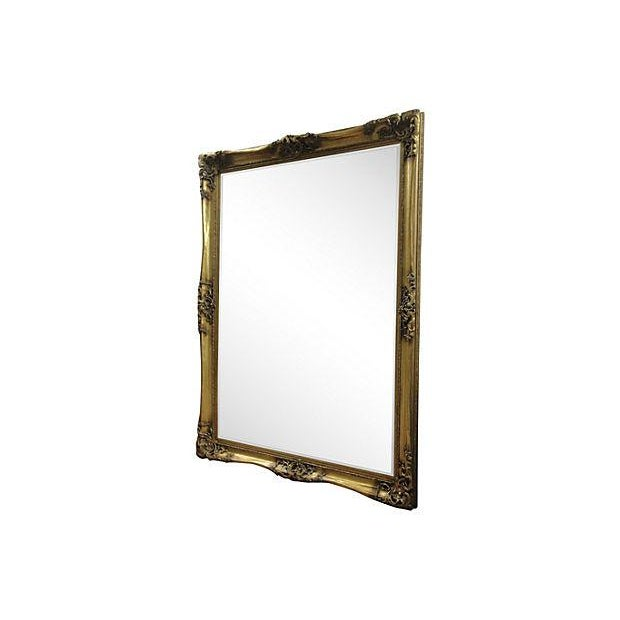 Gilt Solid Oak Mirror - Image 2 of 7