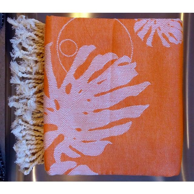 Coral & Orange Towalla Towel - Image 2 of 6
