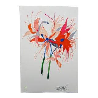 """""""4th of July"""" Original Watercolor"""