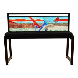 Zelle Glass Birdland Bench