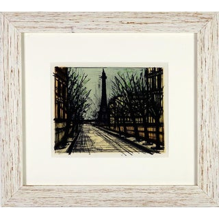 Bernard Buffet Eiffel Tower Lithograph
