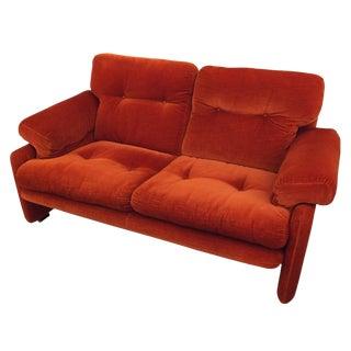 Two Seater Coronado Sofa by Tobia Scarpa