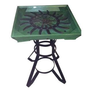 Industrial Tiller Wheel Table